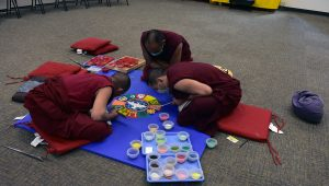 World Peace Sand Mandala Creation Opening Ceremony – 5/1/18