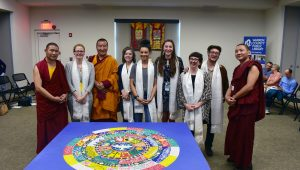 World Peace Sand Mandala Creation Closing Ceremony – 5/5/18